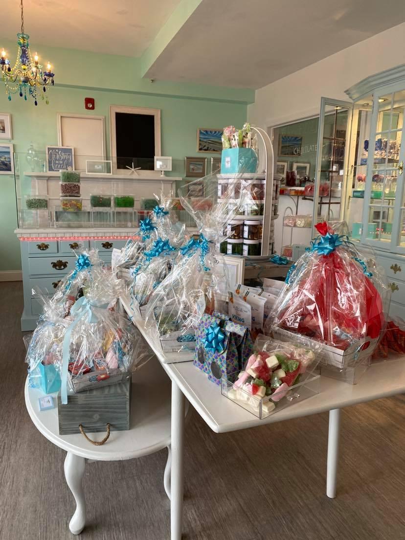 Inside the nantasket sweets by swedes shop