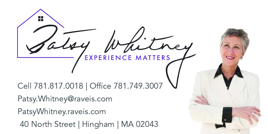 Patsy Whitney, Realtor business card
